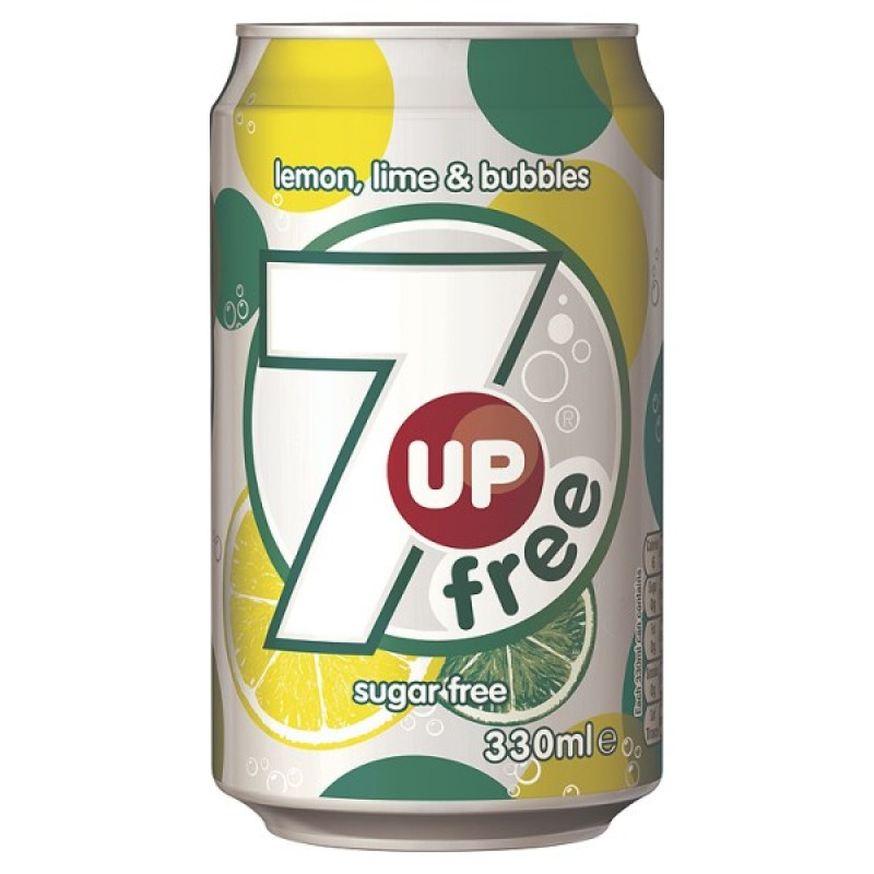 7up Diet 330ml Cans PK24