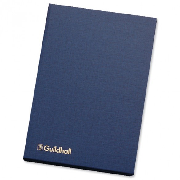 Guildhall Account Book 31 Series 7 Cash Column 80 Pages 298x203mm Ref 31/7Z