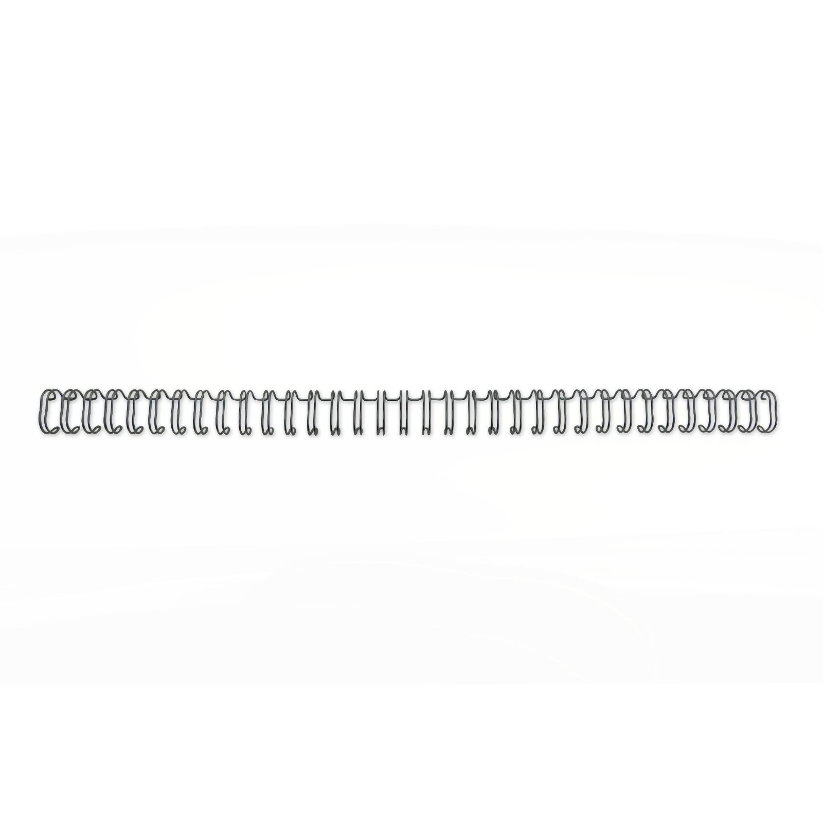 GBC 34 Loop Wire 12.5mm No.8 BK PK100