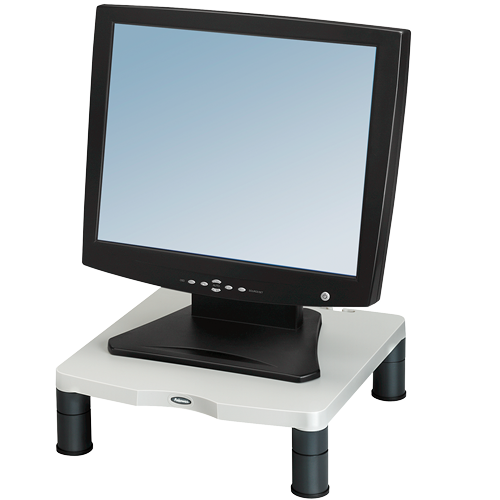 Risers / Stands Fellowes Standard Monitor Riser Platinum 91712