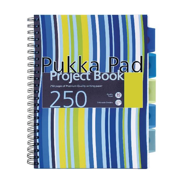 Pukka Project Book A4 Wire Asst PK3