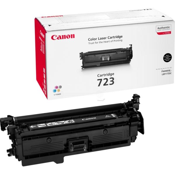 Canon 723BK Laser Toner Cartridge Page Life 5000pp Black Ref 2644B002