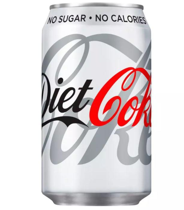 Cold Drinks Diet Coca Cola Drink Can 330ml (Pack 24) 402004