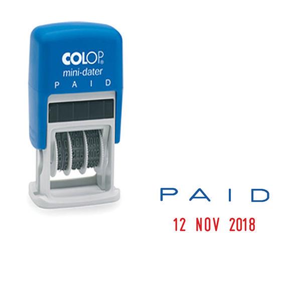 Colop S160/L2 Mini Dater Paid