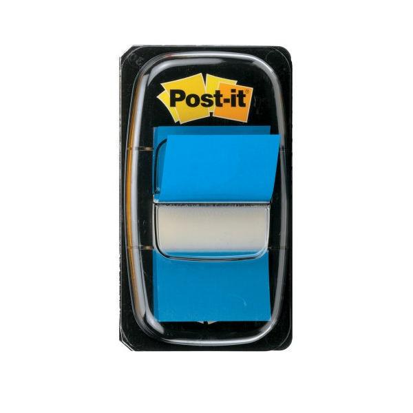 Post-it Index Flags 25mm 50 Tabs BL PK12