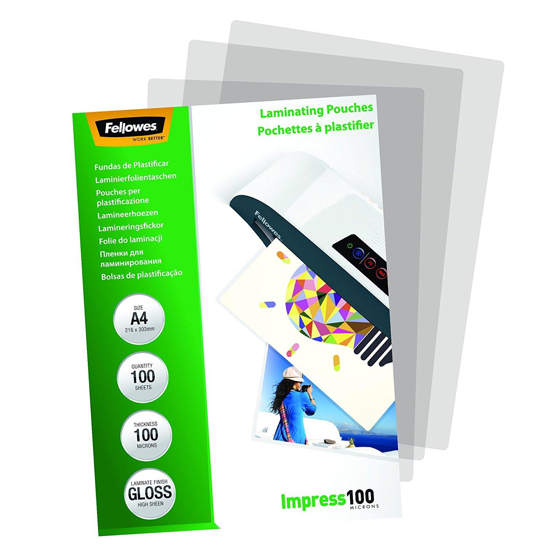 Laminating Pouch A4 2x100 micron (PK100)