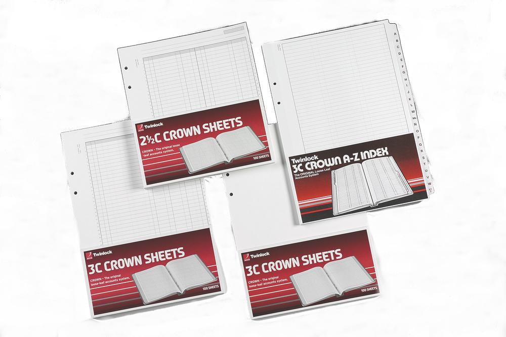 Twinlock Crown Sheets 3x Cash PK100