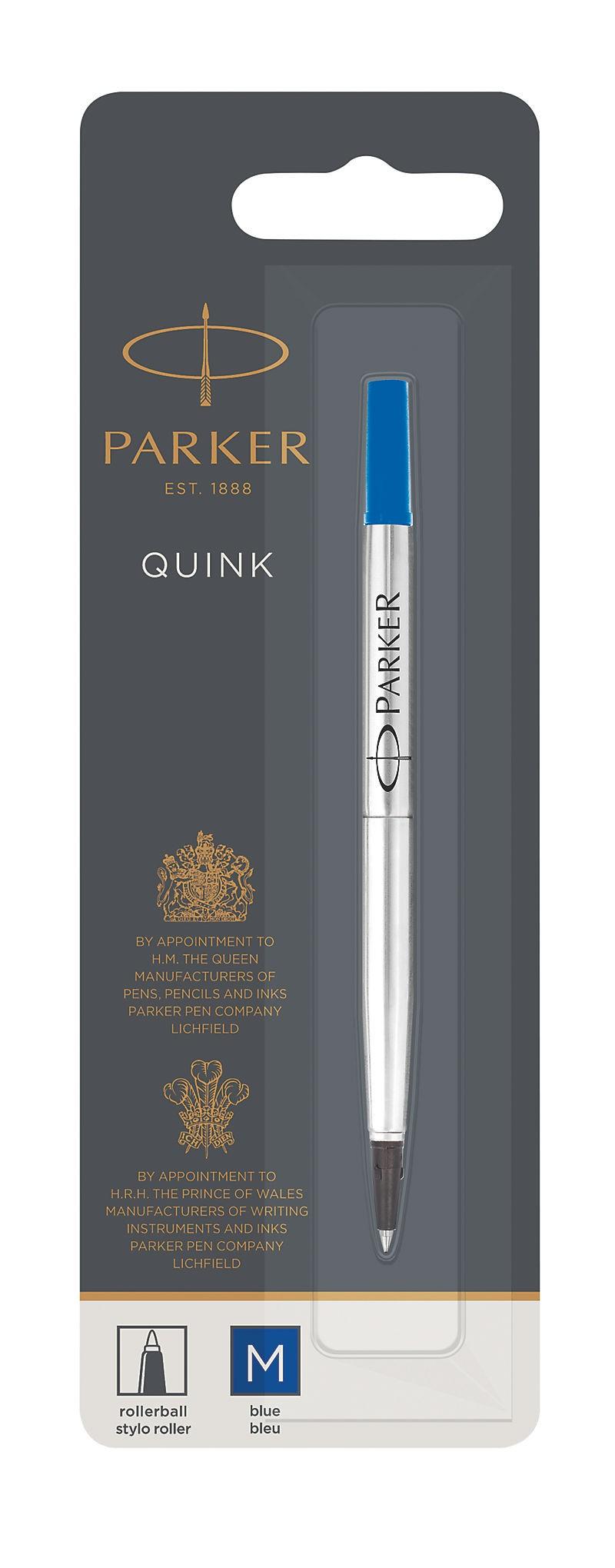 Parker Quink Roller Ball refill Medium Blue