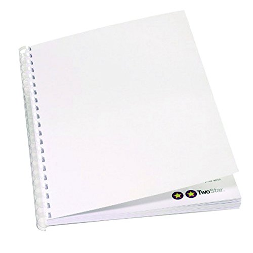 GBC Plain Cover Set 220gsm White A4 CEO80070 (PK100)