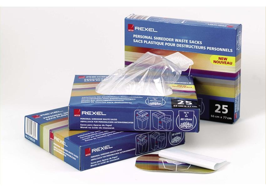 Image for Rexel AS3000 Waste Sacks Polypropylene 175 Litres Ref 40095 [Pack 100]