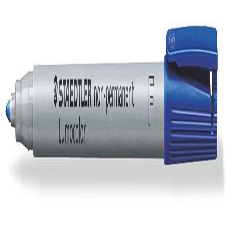 Non-Permanent Markers Staedtler Lumocolor OHP Pen Non-Permanent Fine 0.6mm Blue (Pack 10) 316-3