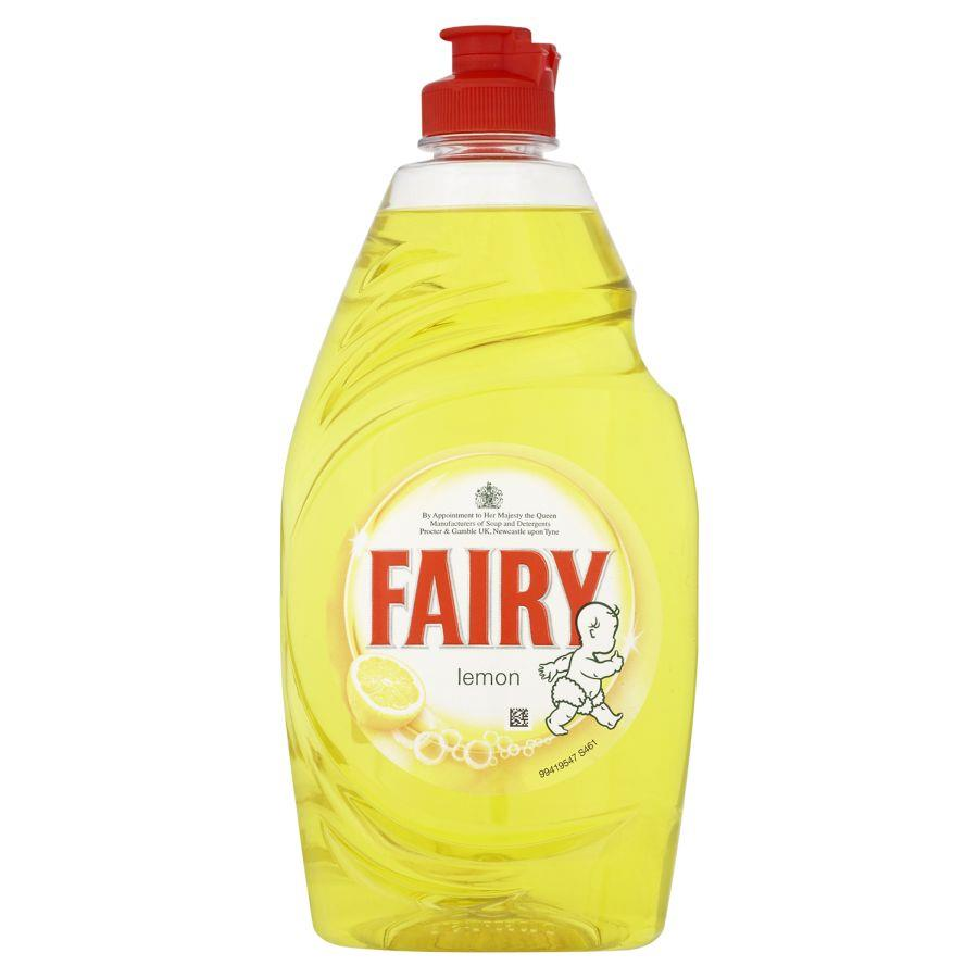 Cleaning Chemicals Fairy Liquid Lemon Zest 433ml PK2