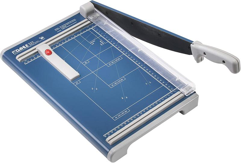 Guillotines Dahle Guillotine A4 340mm Blue 553