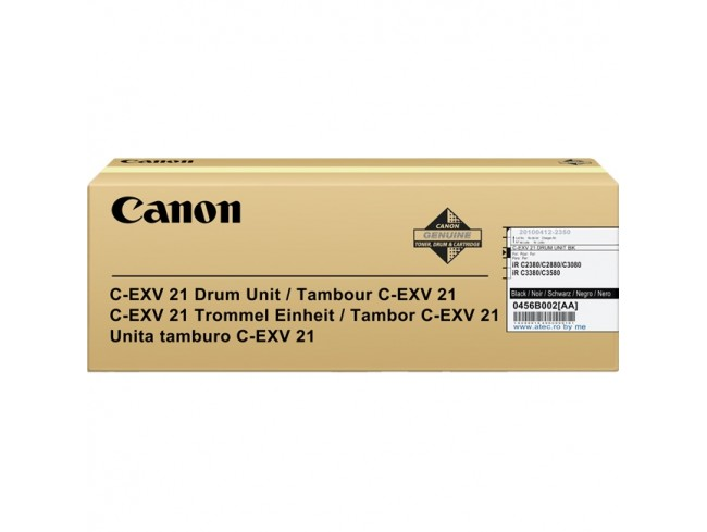 Canon 0456B002 EXV21 Black Drum Unit 77K
