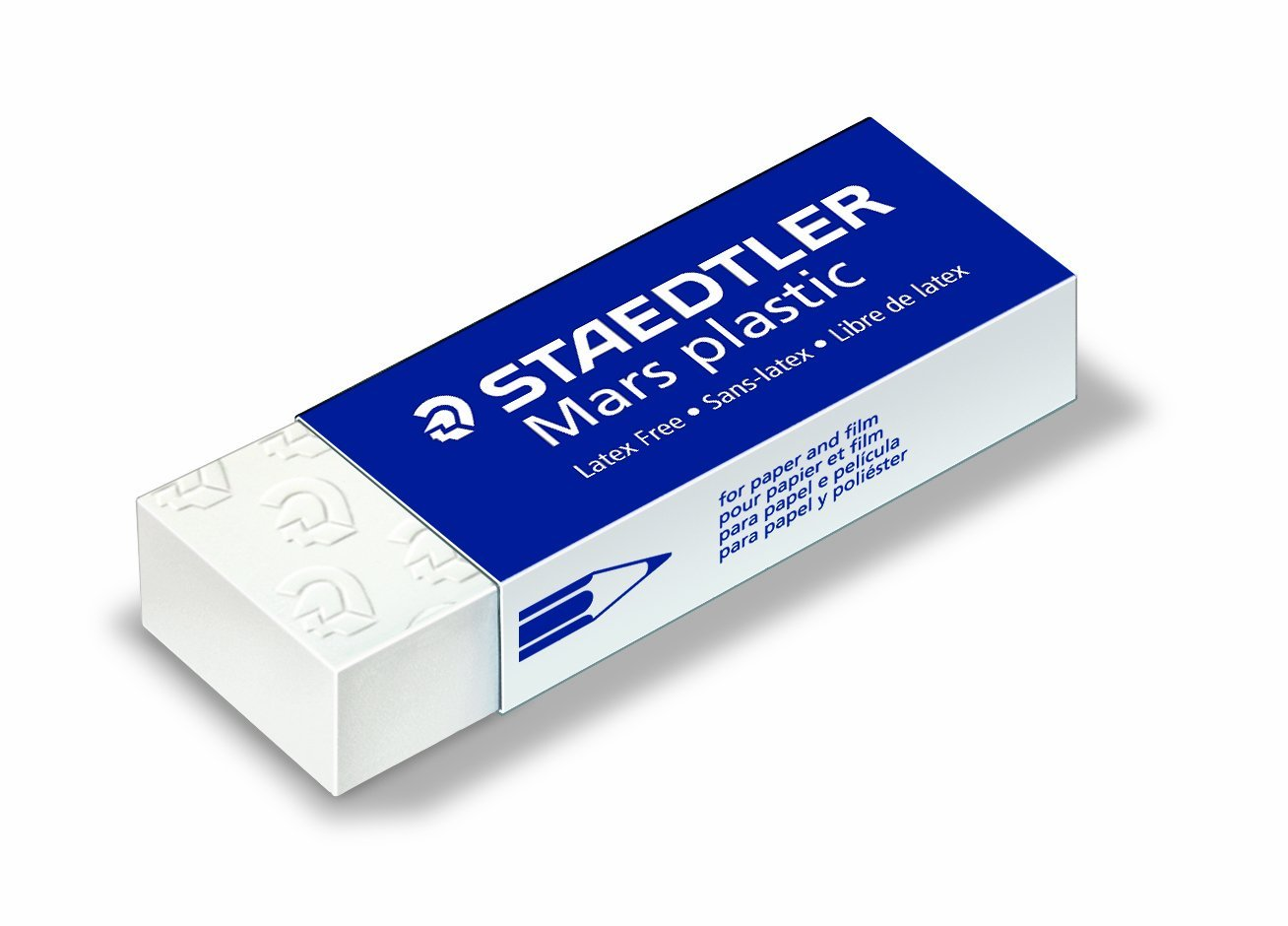 Staedtler Mars Plastic Eraser Premium Quality Self-cleaning 65x23x13mm Ref 52650 [Pack 20]