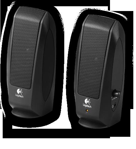 Logitech Black S-120 Speaker System