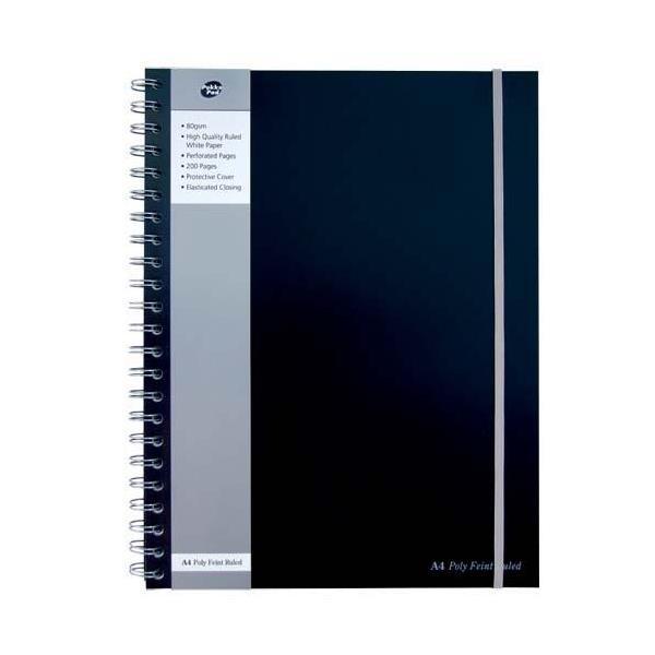 Pukka Poly Jotta A4 Notebook BK PK3