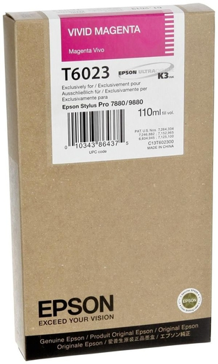 Epson Stylus Pro 7880/9880 Vivid Magenta 110ml