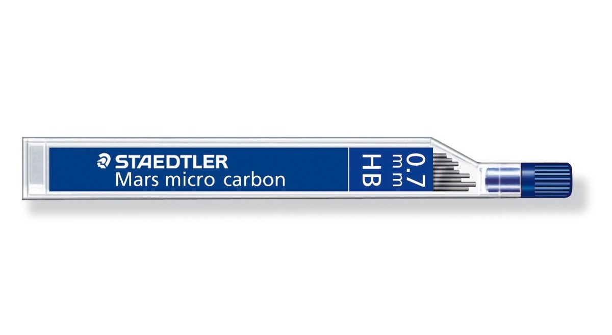 Refill Leads Staedtler Mars Micro Lead 0.7mm HB Pack 12