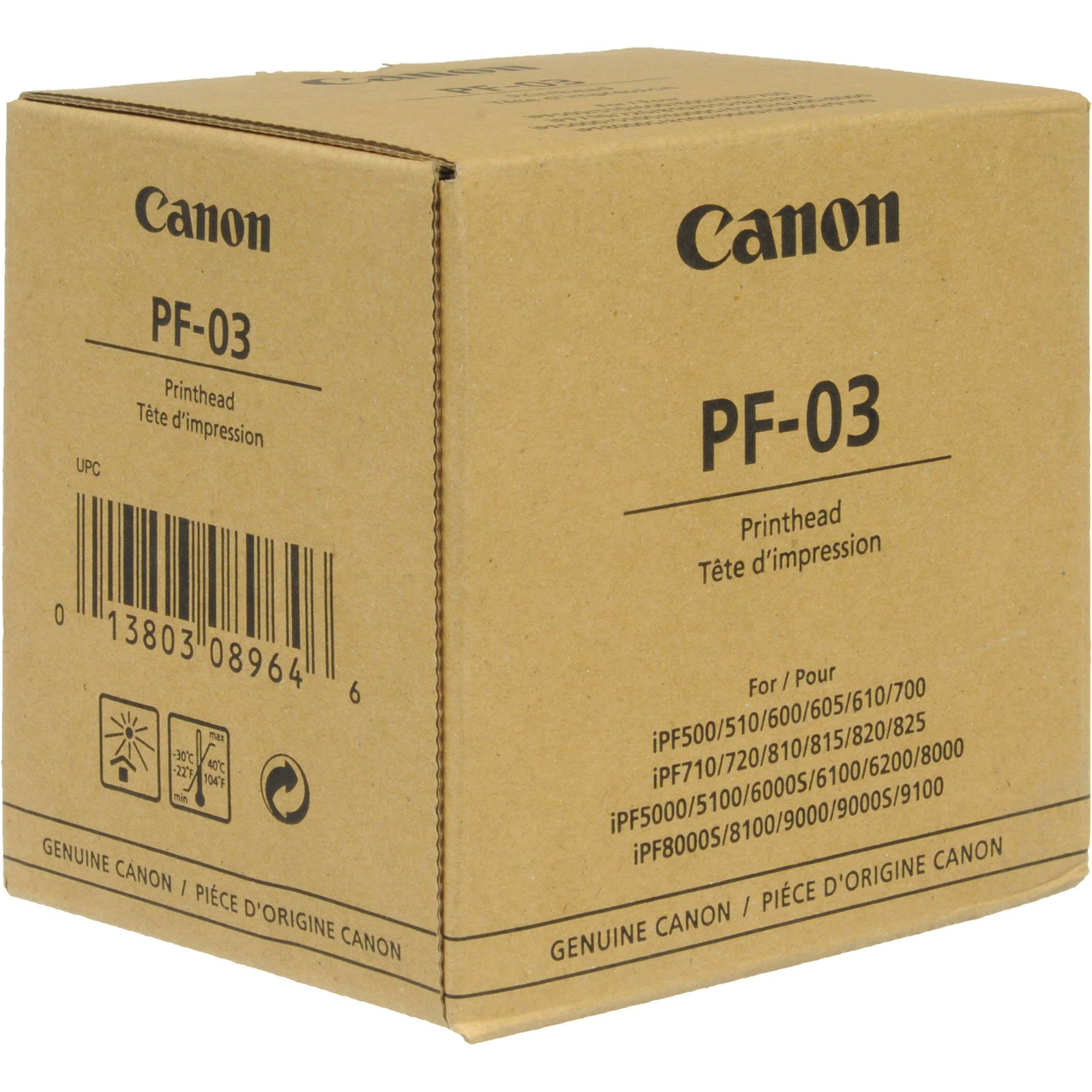Canon Print Head Pf-03