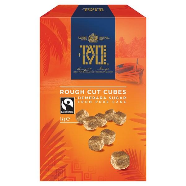 Sugar / Sweetener Tate & Lyle Demerara Sugar Cubes 1KG