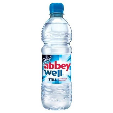 Image for Abbey Well Natural Mineral Water Bottle Plastic Still 500ml Ref A03086 [Pack 24]