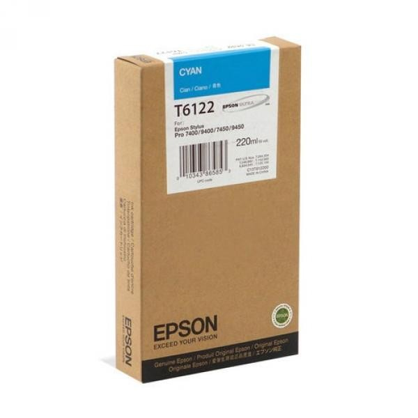 Epson Stylus Pro 7400/9400 Cyan 220ml