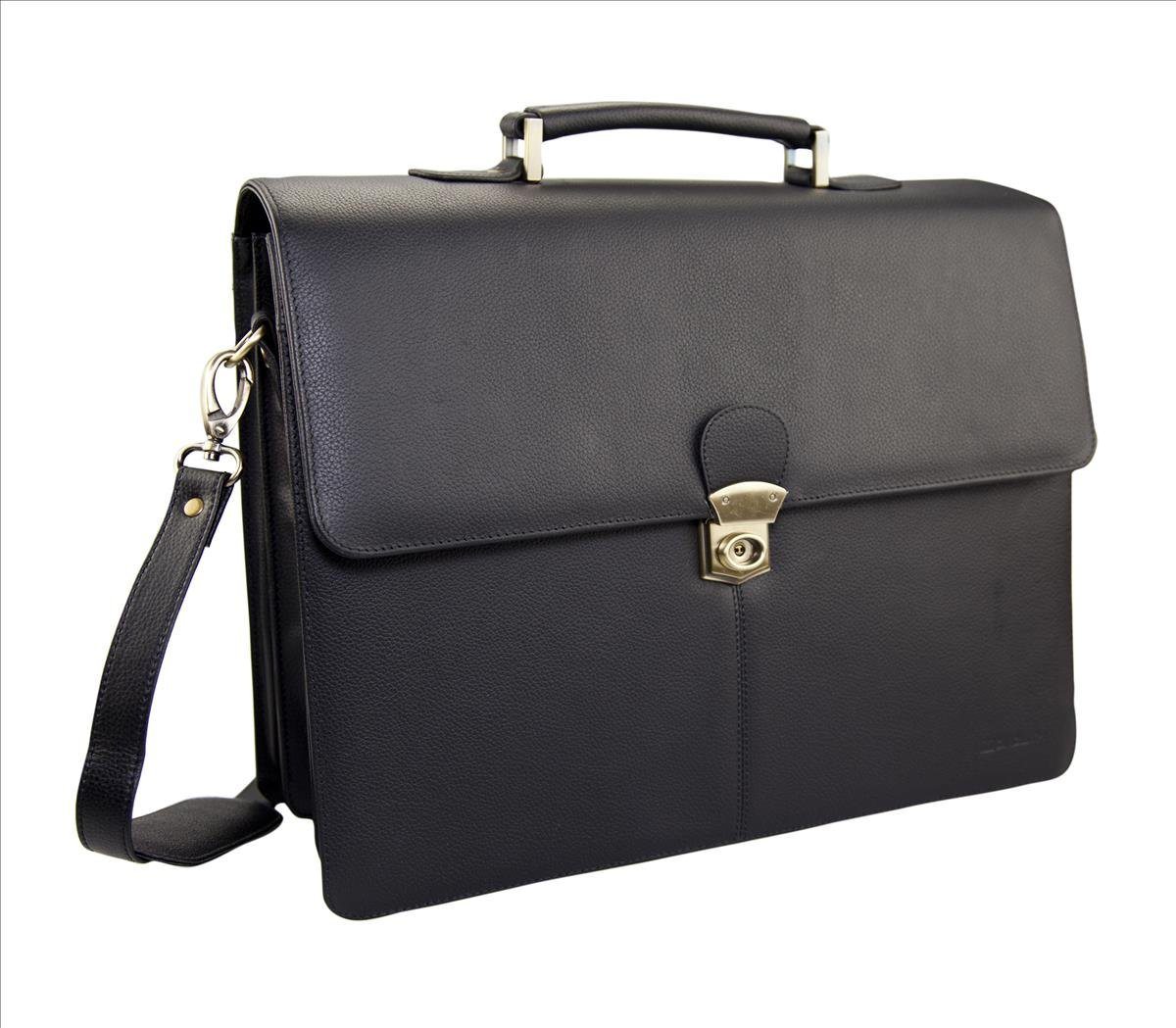 Bags & Cases Monolith Leather Briefcase