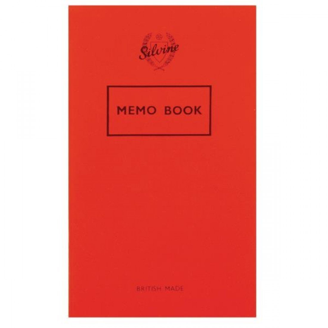 Silvine Memo Book 159X95MM 36LF PK24