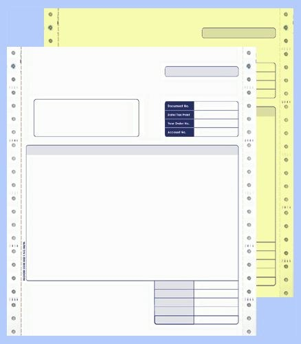 Sage Comp 2 Part Cont Invoice BX1000