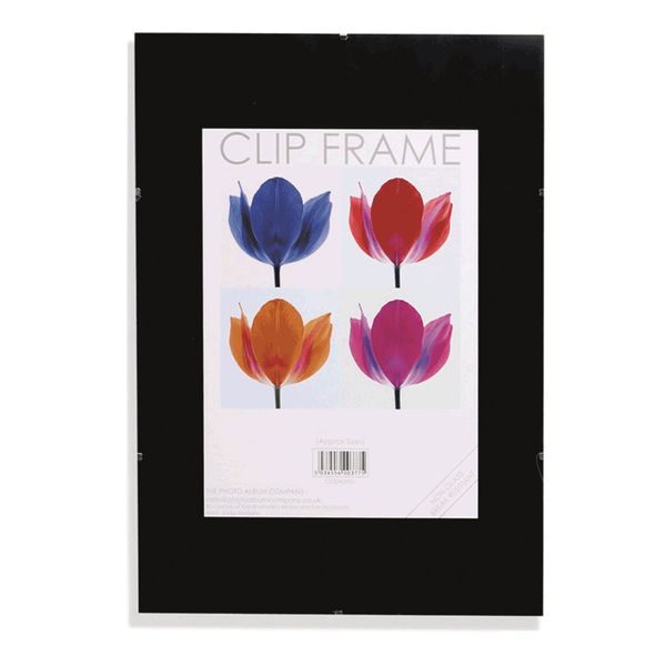 Certificate / Photo Frames Photo Album Co A2 Poster Display Frameless Clip Frame