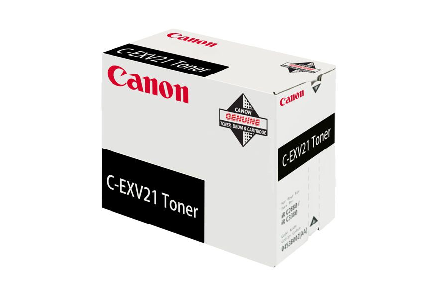 Laser Toner Cartridges Canon 0452B002 EXV21 Black Toner 26K