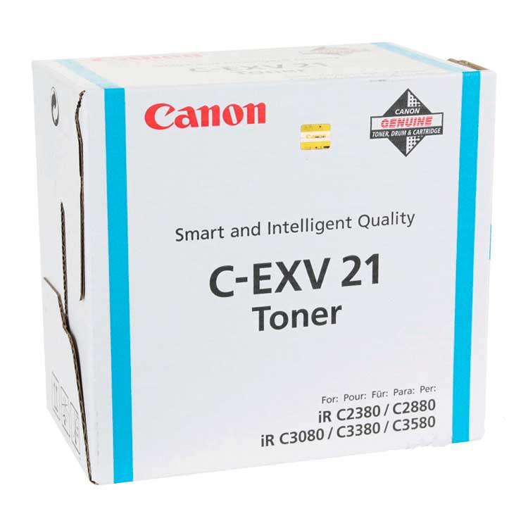 Laser Toner Cartridges Canon 0453B002 EXV21 Cyan Toner 14K