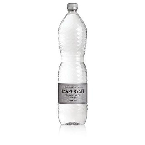 Harrogate Sparkling Water 1.5 litres Ref P150122C [Pack 12]