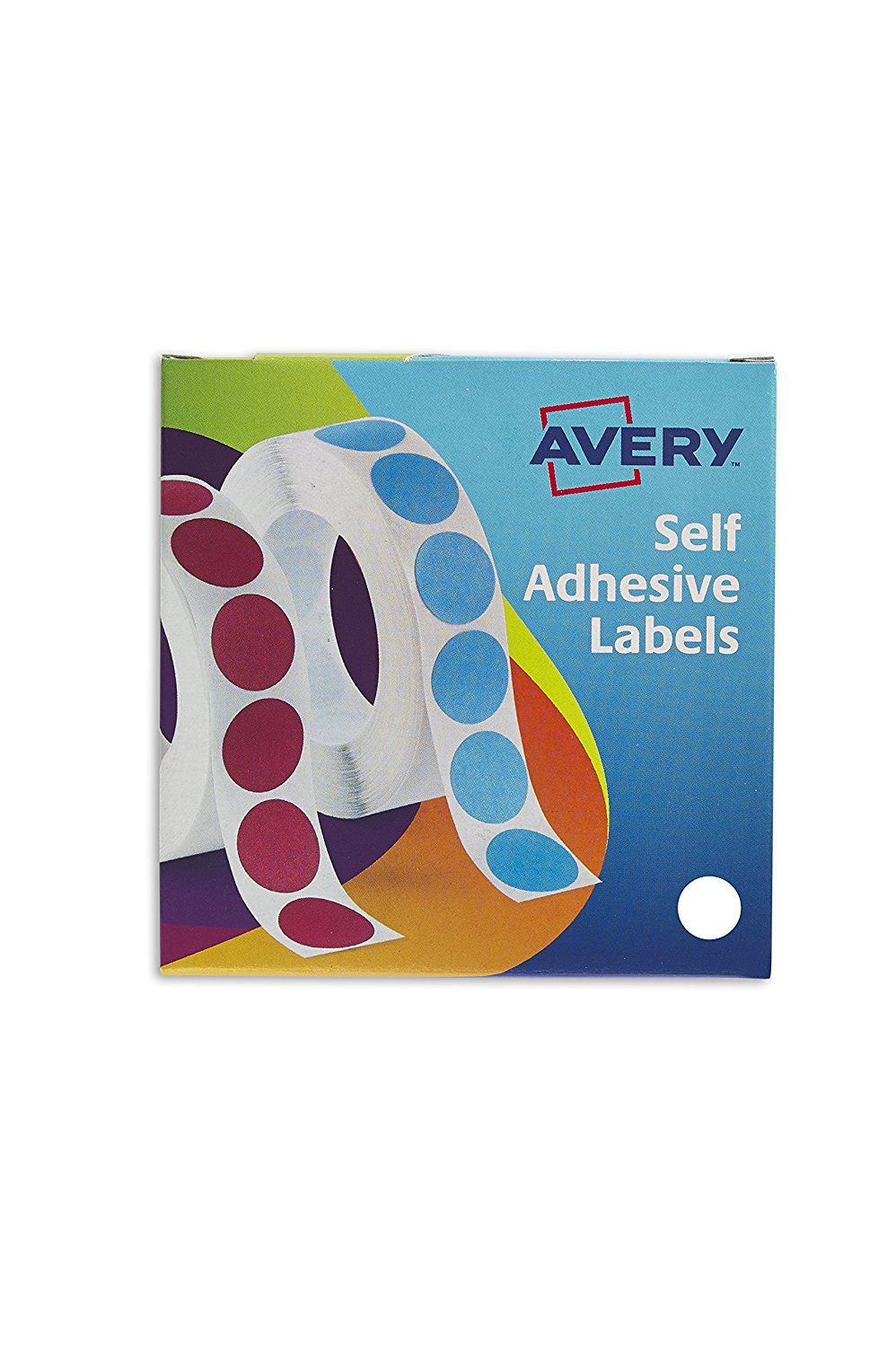 Avery Label Dispenser for Diam.19mm White Ref 24-404 [1400 Labels]