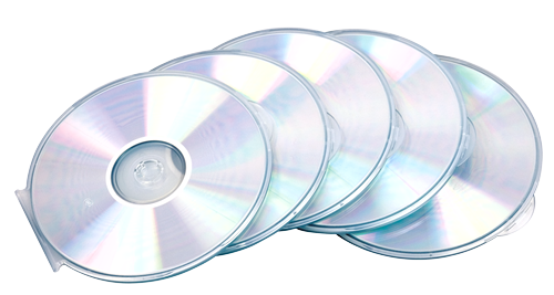 Cases Fellowes CD Case Round Slim Clear 9834201 (PK5)