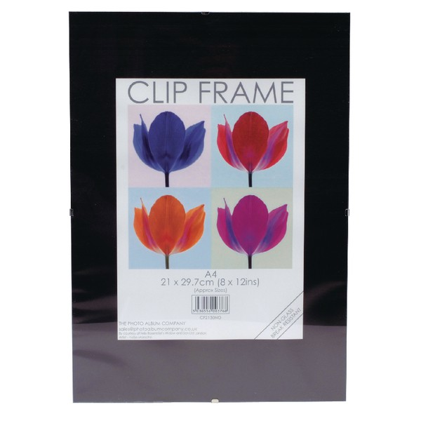 Certificate / Photo Frames Photo Album Co A4 CertificateFrameless Clip Frame