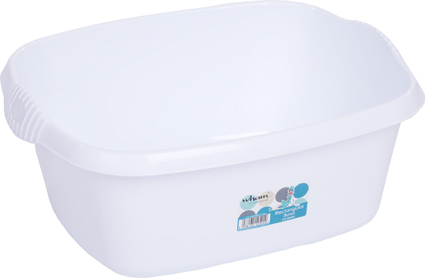 Whatmore Washing Up Bowl Rectangular White Ref 12524
