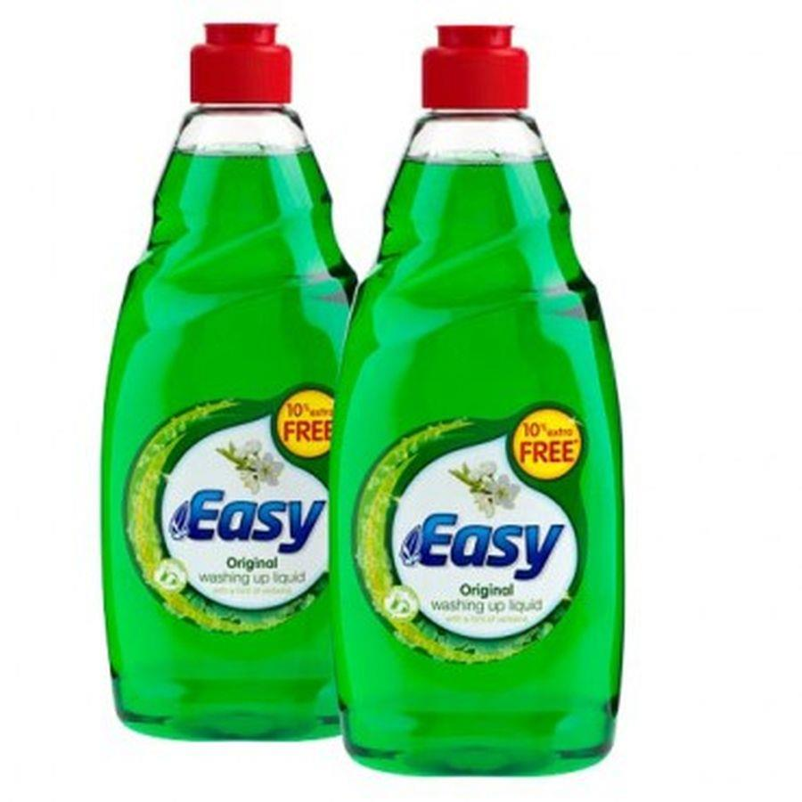 Easy Washing Up Liquid 500ml PK2