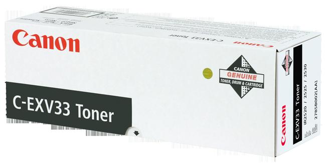 Laser Toner Cartridges Canon 2785B002 EXV33 Black Toner 14.6K