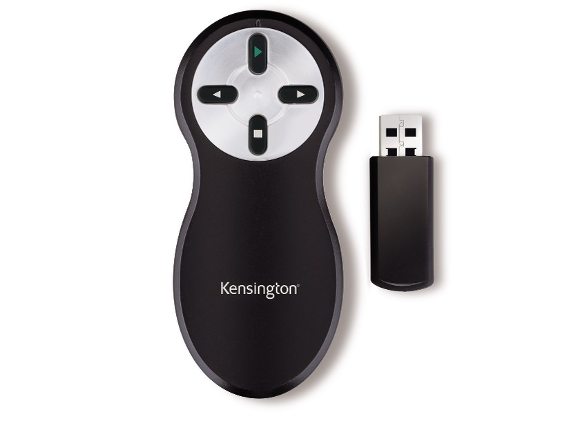 Image for Kensington Blk/Chrm Wireless Presenter