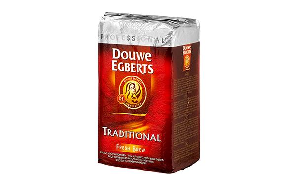 Coffee Douwe Egberts Traditional Freshbrew 1Kg