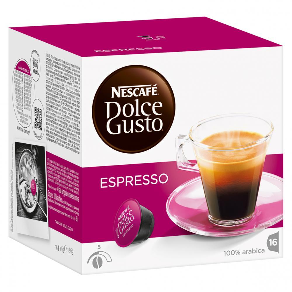 Nescafe Dolce Gusto Exspresso 16 capsules (Pack 3)