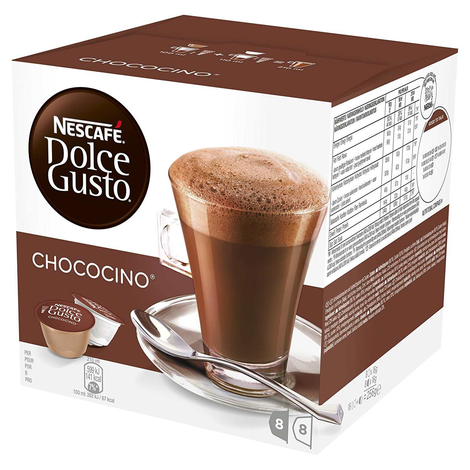 Browse Products Nescafe Cappucino Caramel Nestle Pro 500gr Nl25268