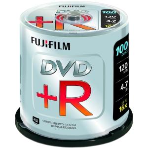 Image for )Fuji 100PK 4.7GB 16X DVDplusR Spindle