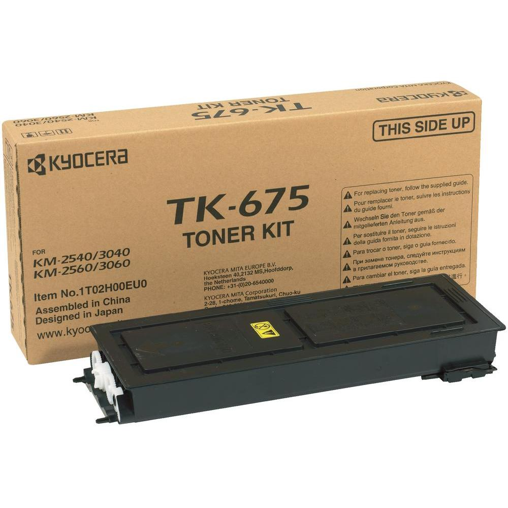 Kyocera Black TK-675K Toner Cartridge