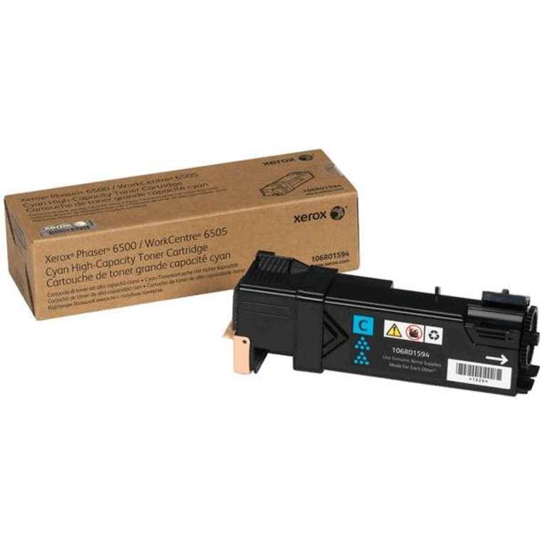Xerox Phaser 6500 Cyan Toner 106R01594
