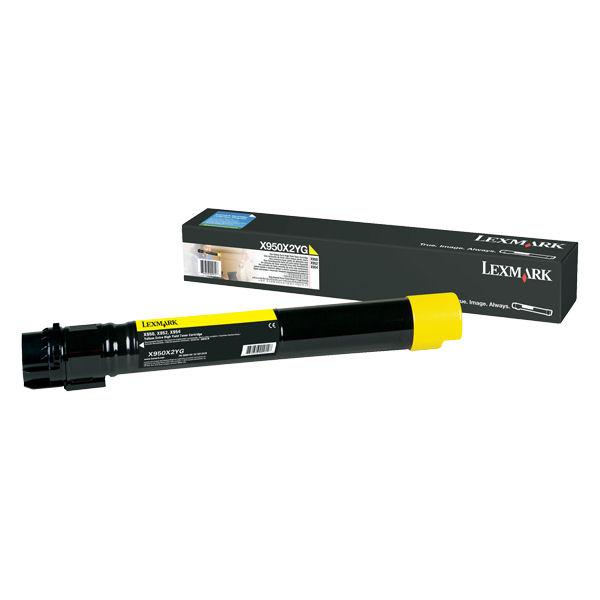 Lexmark C950X Toner Cartridge Extra High Yield Page Life 2200pp Yellow Ref X950X2YG
