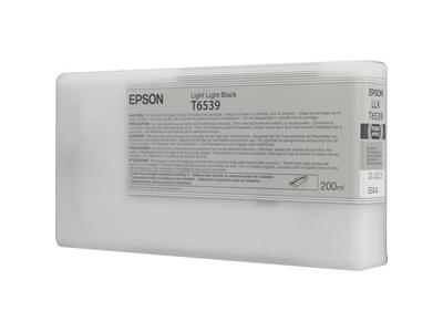 Inkjet Cartridges Epson C13T653900 T6539 Light Light Black Ink 200ml
