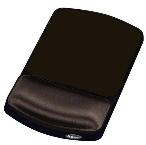 Fellowes Height Adjustable Premium Gel Mousepad Graphite